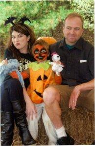 family halloween pic